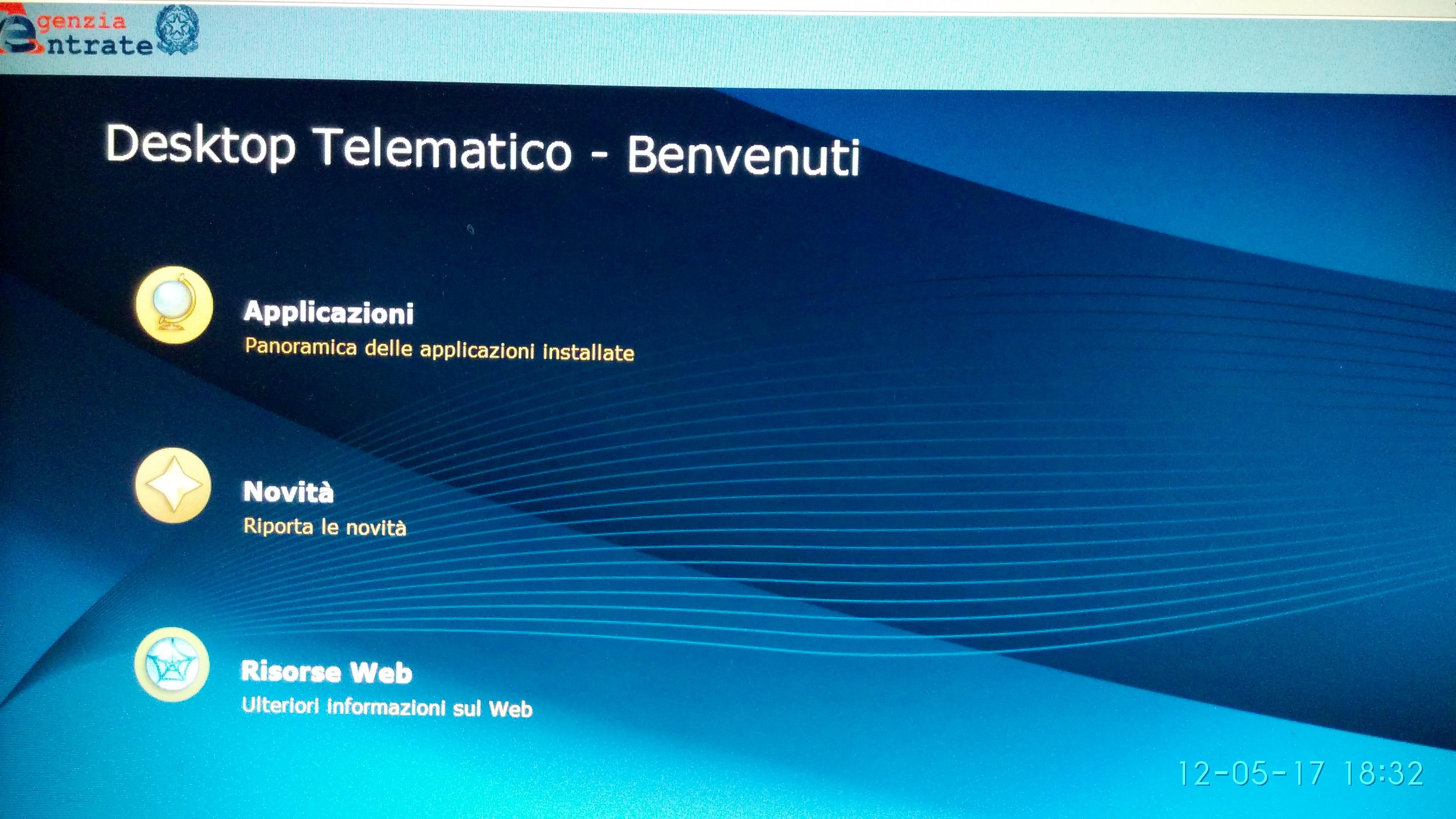 desktop telematico agenzia delle entrate